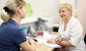 Прием у врача женской консультации