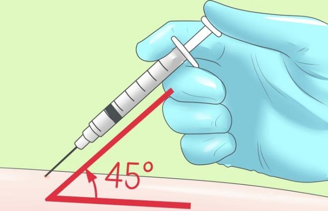 Как сделать инъекцию