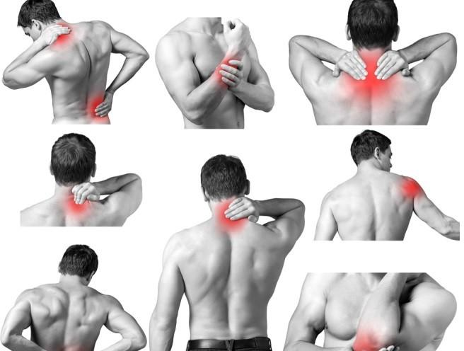 Локализация мышечных болей