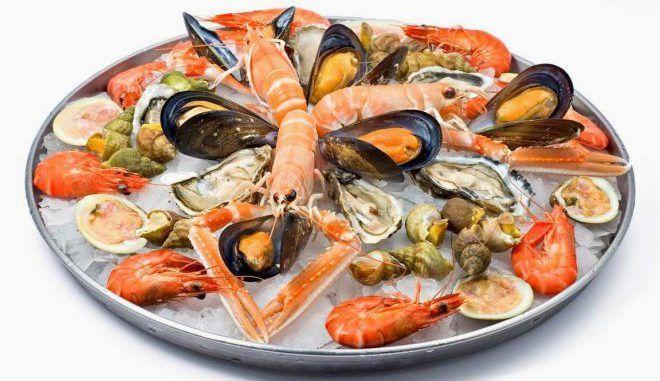 Нельзя употреблять морепродукты перед Радиойодтерапией