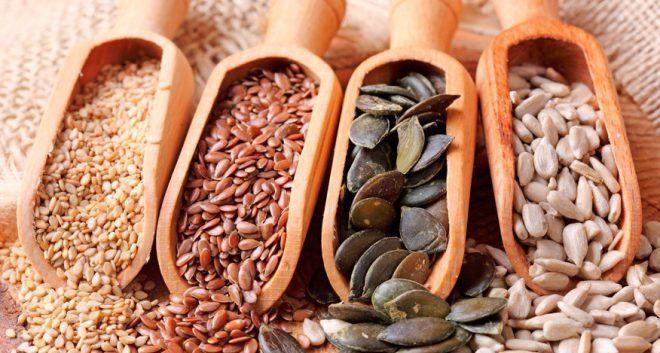 Нельзя употреблять семена при повышенном прогестероне
