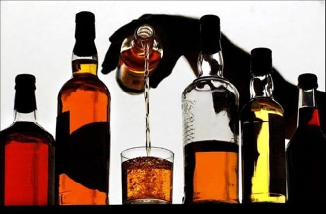 Отказаться от употребления спиртных напитков