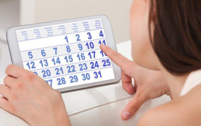 Первой недели менструального цикла