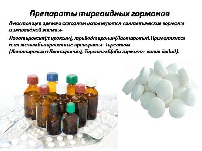 Препараты тиреоидных гормонов
