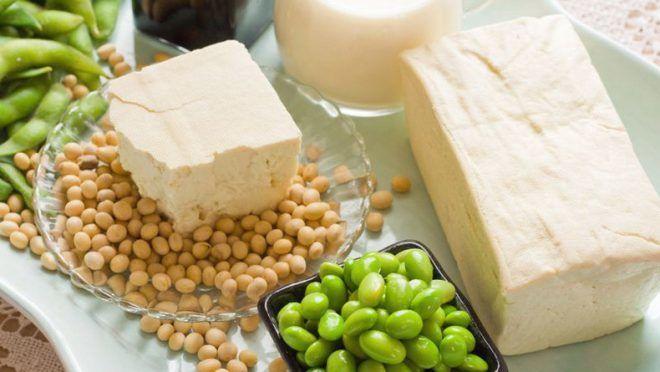 Продукты из сои для увеличения груди