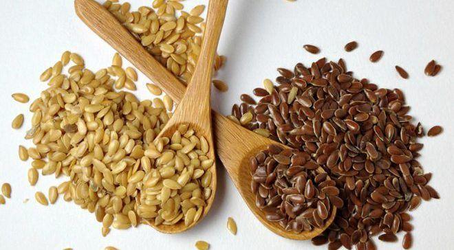 Семена льна для увеличения груди