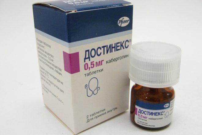 Скорректировать количество лютропина можно препаратом Каберлогином