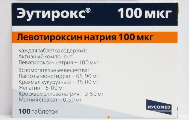препараты при гипотиреозе фармакология