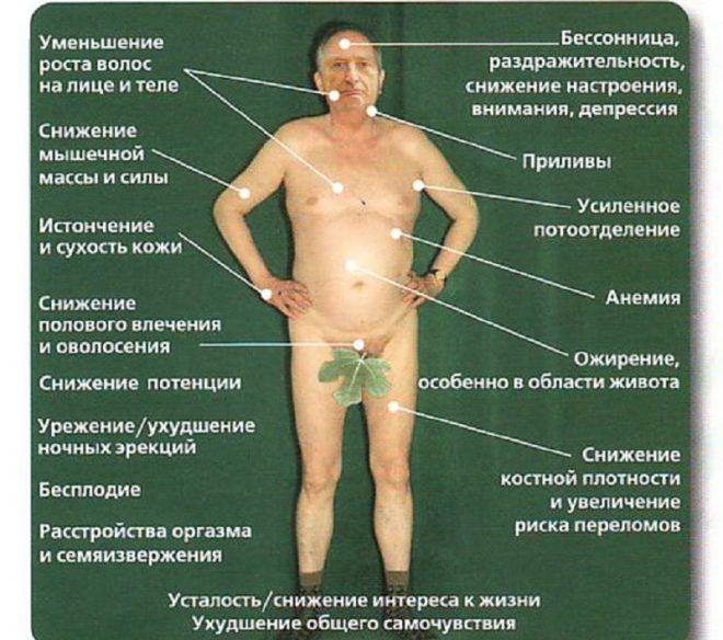 Гипогонодизм у мужчин