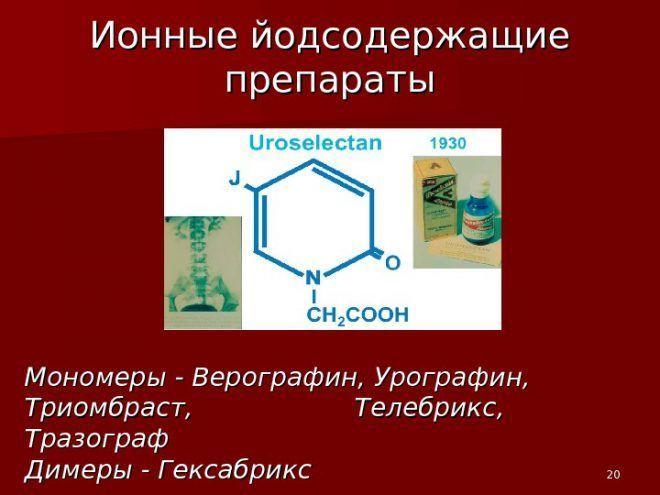 Йодсодержащие препараты