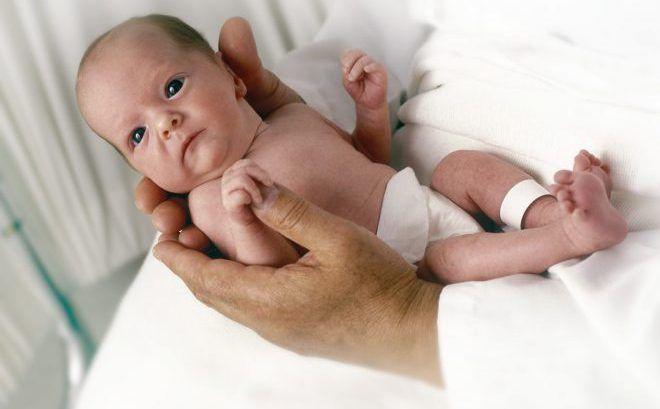 Недоношенный ребёнок с гипертиреозом