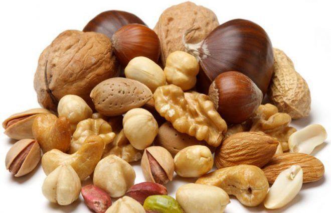 Орехи при болезни Аддисона