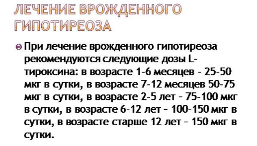 Прием L-тироксина