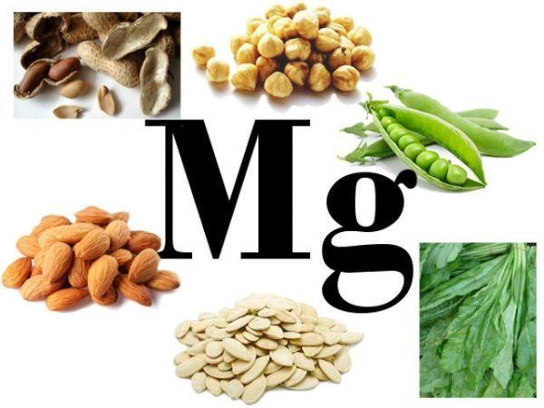 Продукты в которых содержится магний