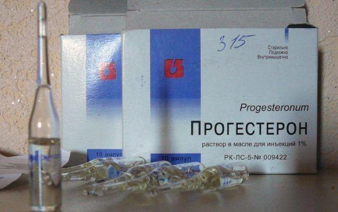 Инструкция по применению прогестерона в ампулах, уколах