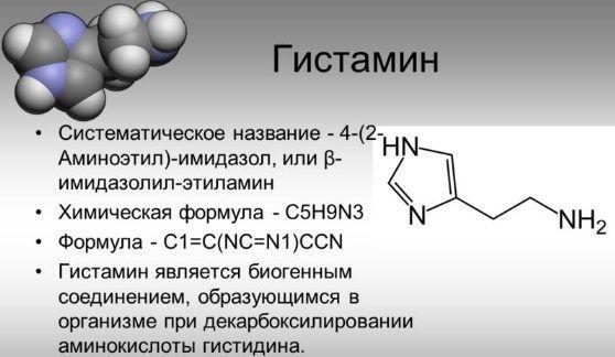 Синтез гистамина