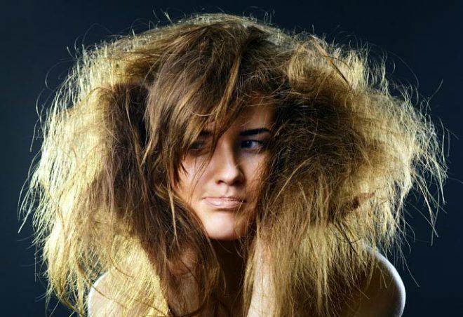 Сухость волос
