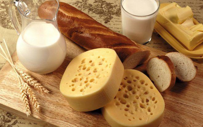 Сыр, молоко