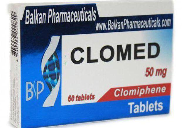 Таблетки кломид