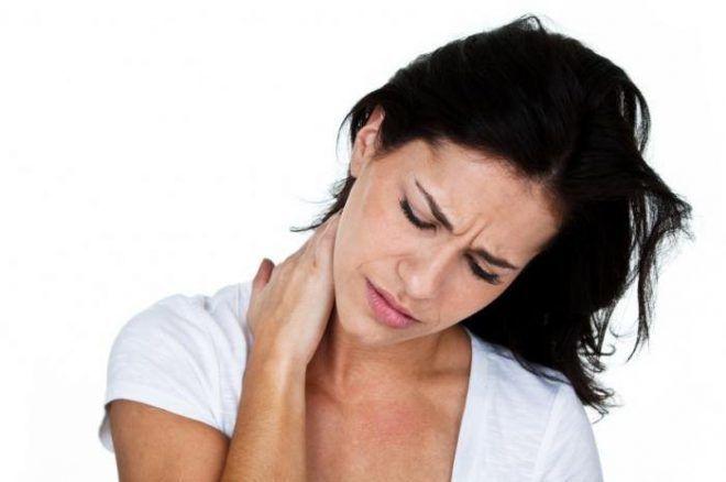 Ярок выраженная деформация шеи