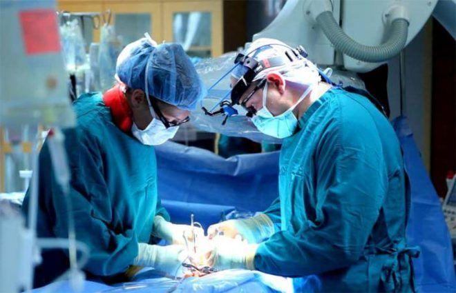 Хирургическая операция щитовидной железы