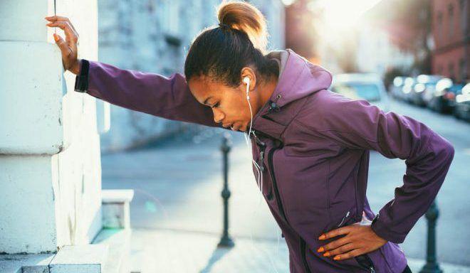 Избегать физические нагруки