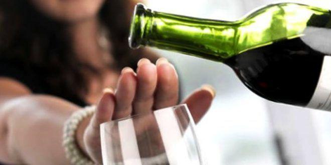 Отказаться от приема алкоголя