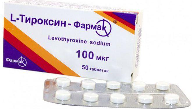 L- тироксин