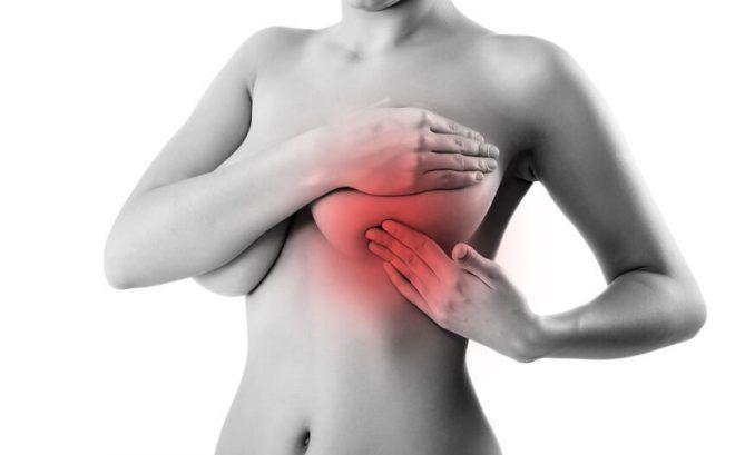 Сильные боли в груди