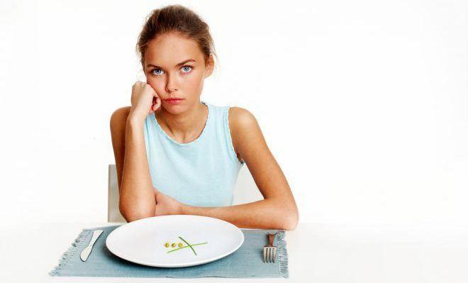 Рекомендуется воздержание от пищи