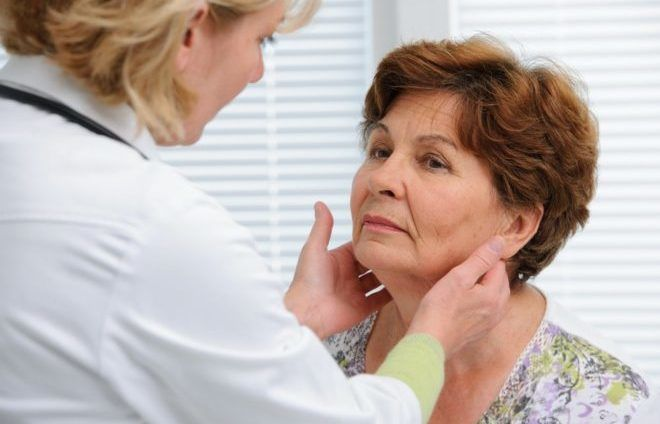 Пальпаторный метод щитовидки