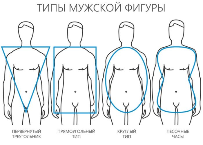 Фигура по мужскому типу