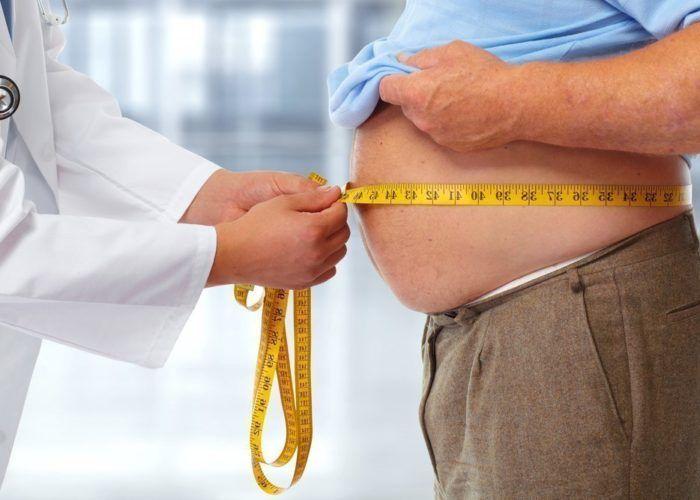 Увеличивается объем жировой ткани