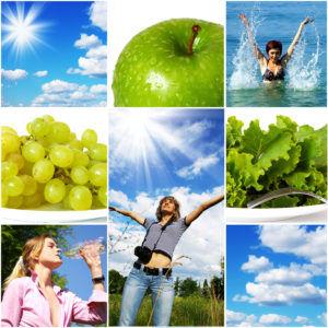Здоровье и молодость вам поможет сохранить здоровый образ жизни