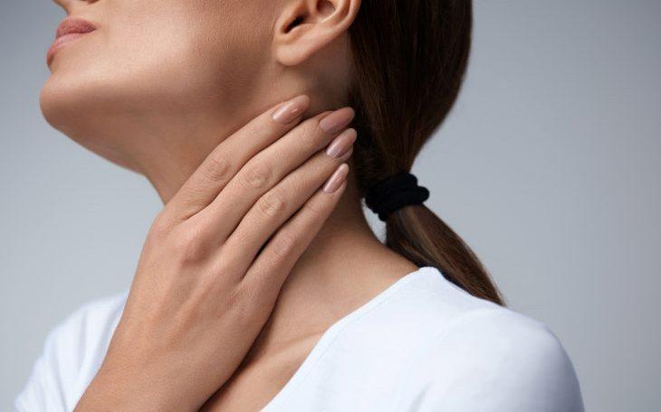 Дискомфорт при глотании слюны и пищевого комка