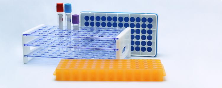 Штативы для лабораторных пробирок