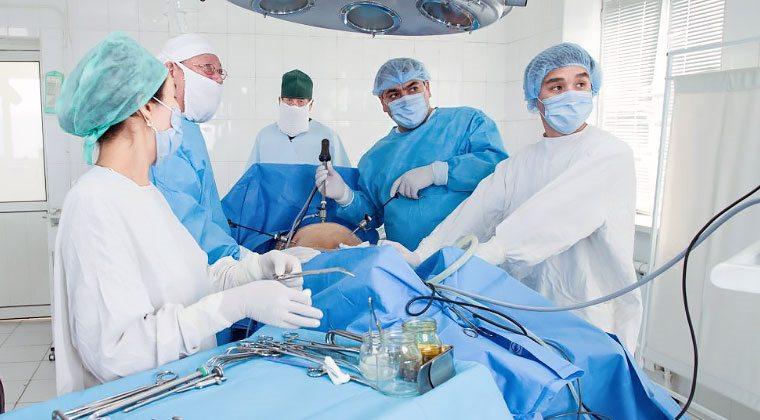 операция миома матки